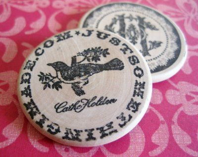 Custom Wooden Nickels, Poker Chips & More! | Just Something I Made (I see round to it's in my future LOL)