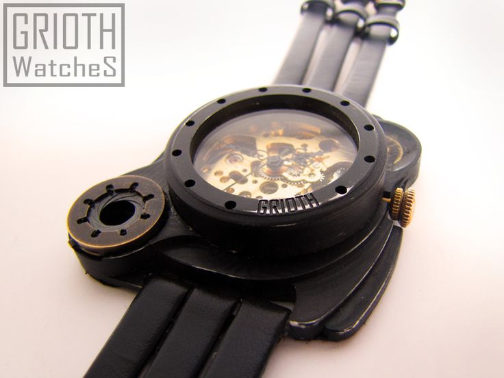 Poison I-VY by GRIOTH. Steampunk, industrial, Gothic Watch