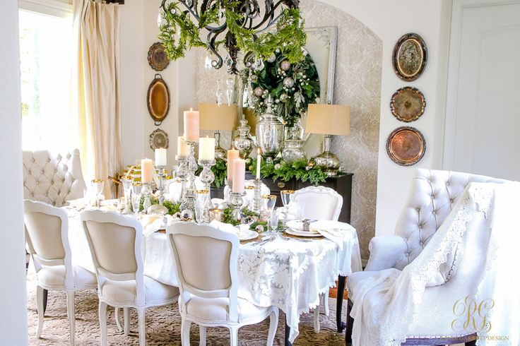 17 Best Ideas About Christmas Dining Rooms On Pinterest: 17 Best Ideas About Table Scapes On Pinterest