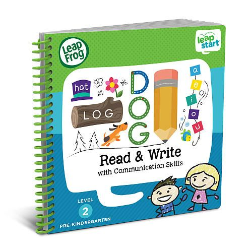 Dig into early reading and writing skills with this fun-filled, interactive activity book for Leap Start™ the interactive learning system designed to get your child ready for school and life. LeapFrog® LeapStart™ Read and Write with Communication Skills Activity Book is jam-packed with 40+ replayable activities that engage kids ages 3-5 at the pre-kindergarten level to keep them playing and learning for hours. With the LeapStart system, every page talks, sings and j...