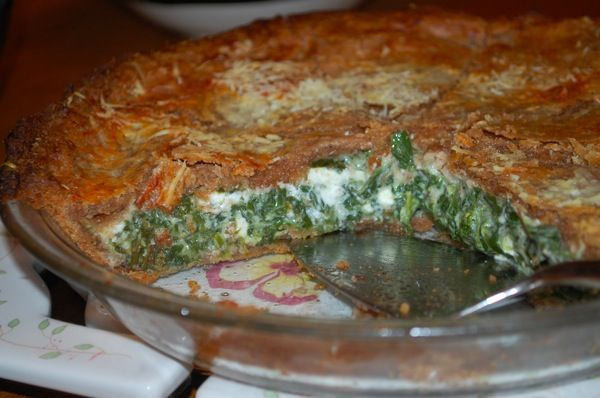 Genovese Tart from Fearless Kitchen - a good resource for medieval food recipes.