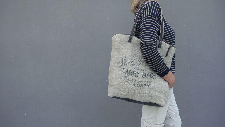 """""""EDEN"""" burlap bag Sail&Pepper bags"""