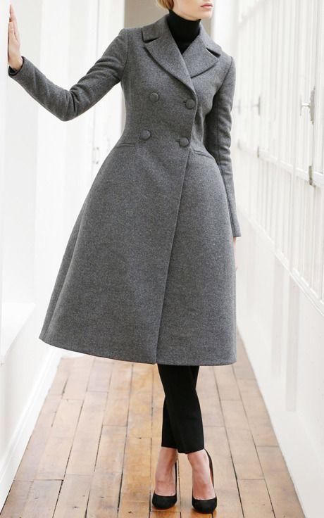 Martin Grant Pre-Fall 2015 Trunkshow Look 1 on Moda Operandi