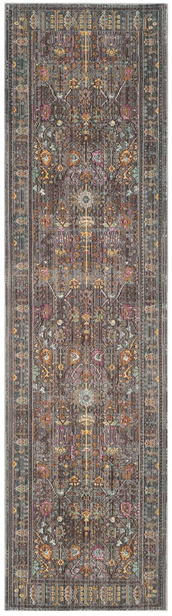 VAL108C Rug from Valencia collection.  This grey floral design area rug, from…