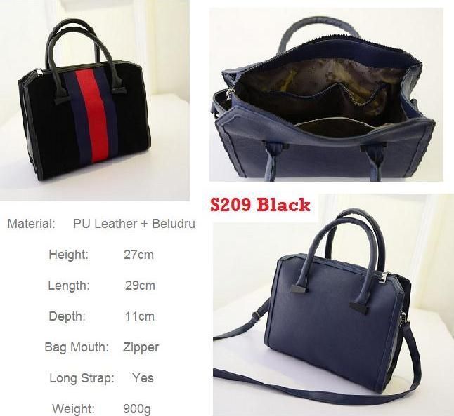 supplier tangan pertama S209 Black