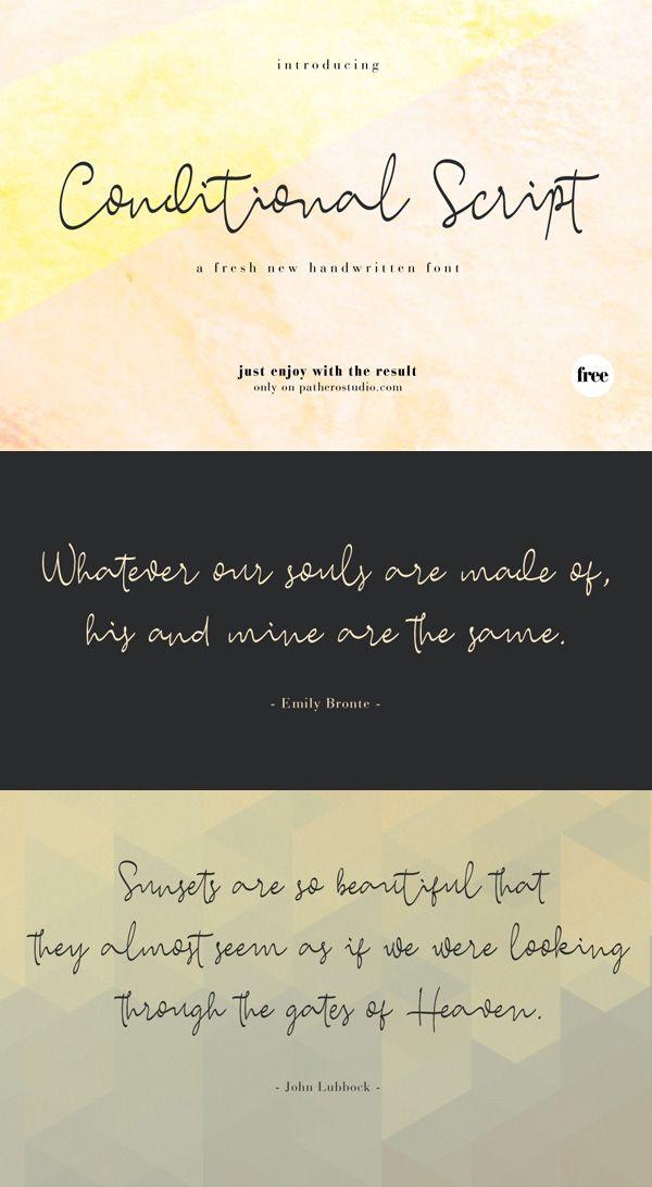 4582 Free Handwritten, Cursive Fonts 2019 | Font | Calligraphy fonts