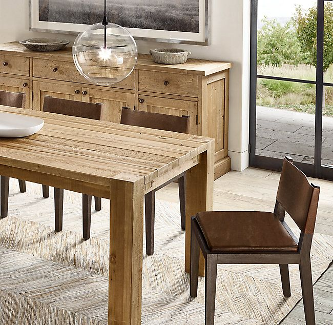 Alternate View 6 Dining Table Extension Dining Table Rustic