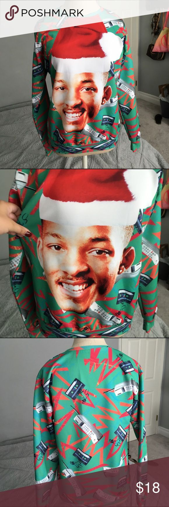 Will Smith Christmas Sweater | Will smith, Suéteres y Suéteres de ...