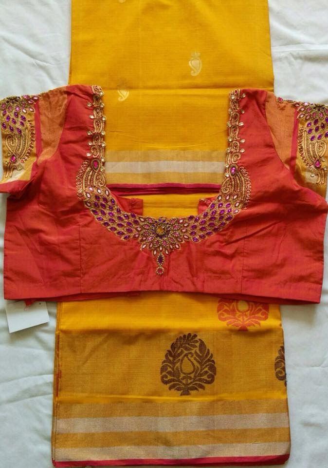 Designer blouse grand work