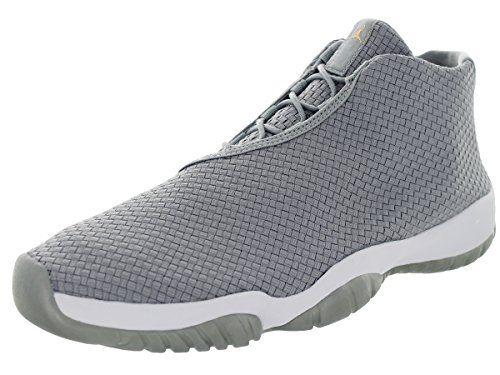 Nike Jordan Men's Air Jordan Future Wolf Grey/Wolf Grey/White Basketball Shoe  12 Men US. Plus, a full-length Max Air unit adds a cushy, plush feel to  every ...