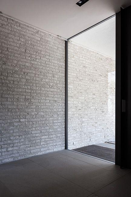 raam naar binnen laten vallen, licht maar toch privacy Antwerpen — Areal Architects