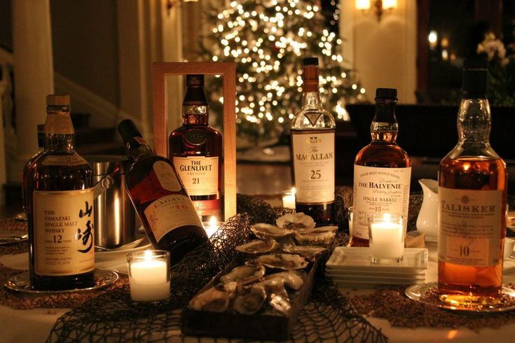 Holiday, Christmas Scotch tasting at Wheatleigh in the Berkshires, Lenox, MA.