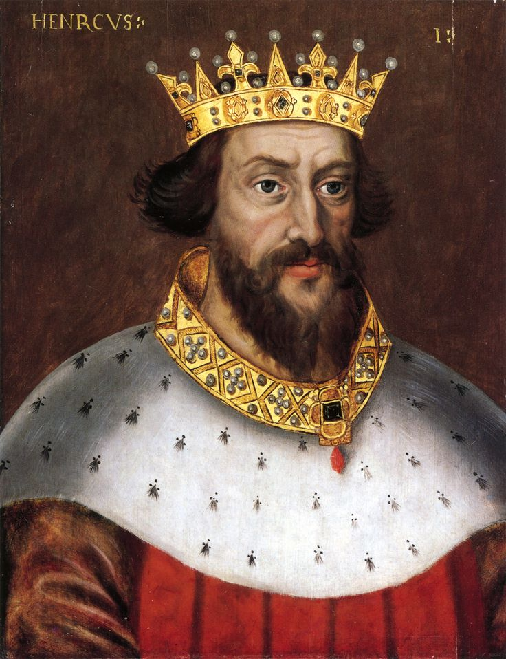 Henry I: Known as a harsh but effective king, he died without a male heir resulting in a period of anarchy