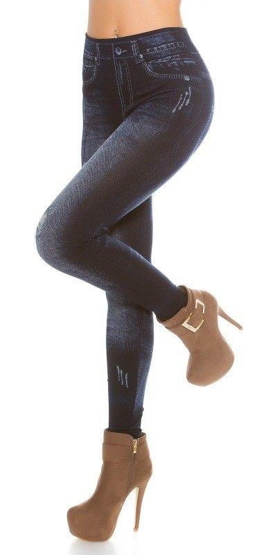 Leginy - jeans