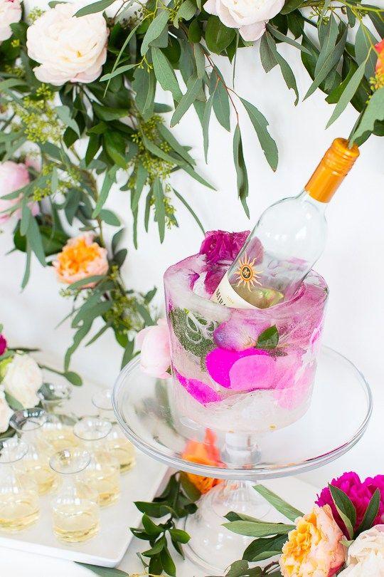 DIY Frozen Wine Bucket (+ Giveaway!) | Sugar & Cloth