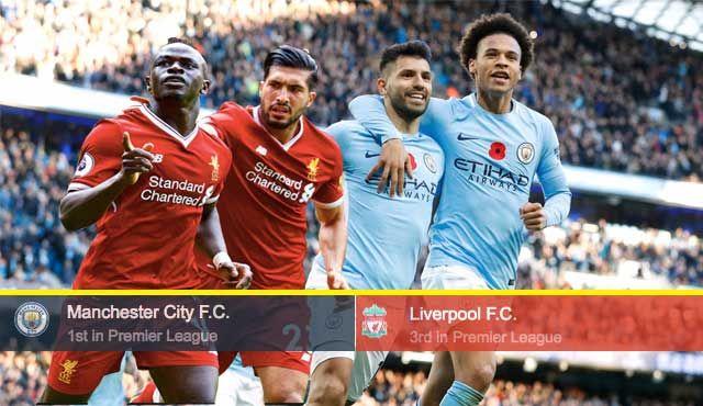 Манчестър Ситиi и Ливърпул двубой от Висшата лига на Англия