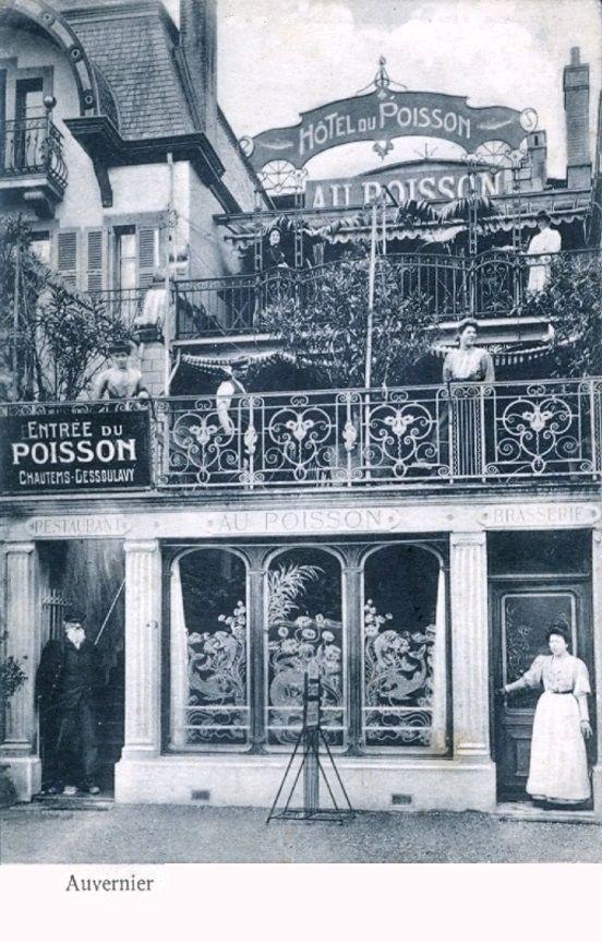 Auvernier Hôtel du Poisson