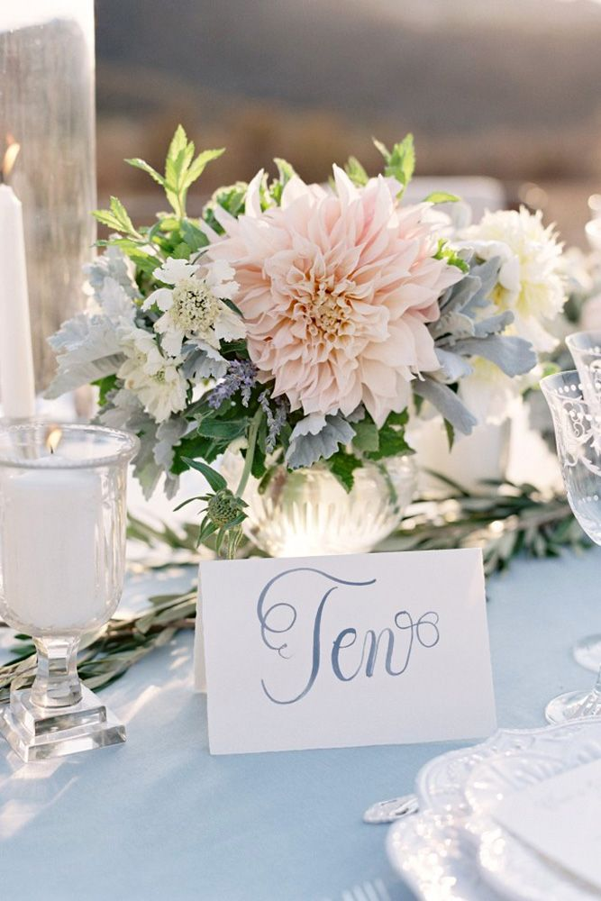 Pin By Trend4homy On Trending Decoration In 2019: Summer Wedding Centerpieces, Blue, Blush Wedding