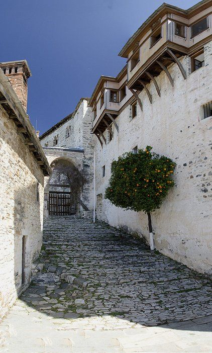 """Monastery gate"".. Mount Athos, Greece"