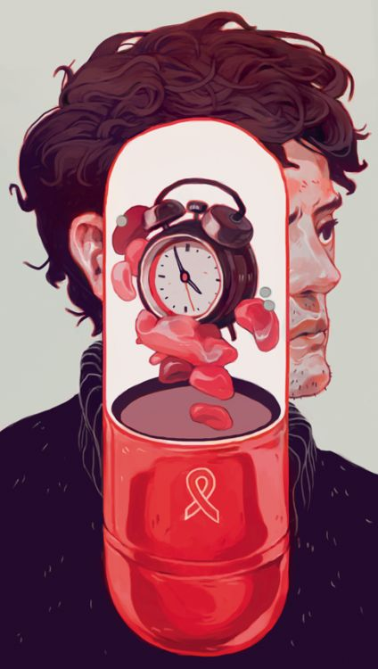 'The Real Cure For AIDS' for The New RepublicFor an article about curing AIDS, arguing that the cure might not necessarily be the 'what' but 'when'. The cure is in the time. Check out the article here Shoutouts to AD Erick Fletes!