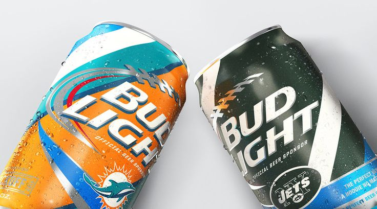 """By embracing the unique passion NFL fans feel for their respective teams, we created something truly revolutionary: 69 limited edition Bud Light cans for the football season."""