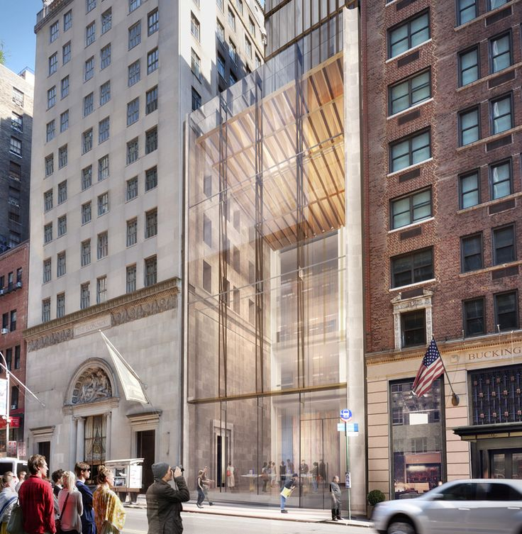 SHoP architects get approval for skinny skyscraper in new york