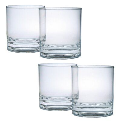 Chenco Inc. Edge Double Old Fashion 14 Unzen. Kunststoff-Whiskyglas – Products