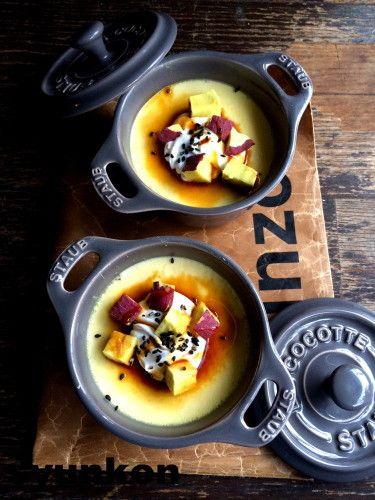 【簡単!!】おすすめです。オーブン不要*しっとりさつまいも焼きプリン|山本ゆりオフィシャルブログ「含み笑いのカフェごはん『syunkon』」Powered by Ameba