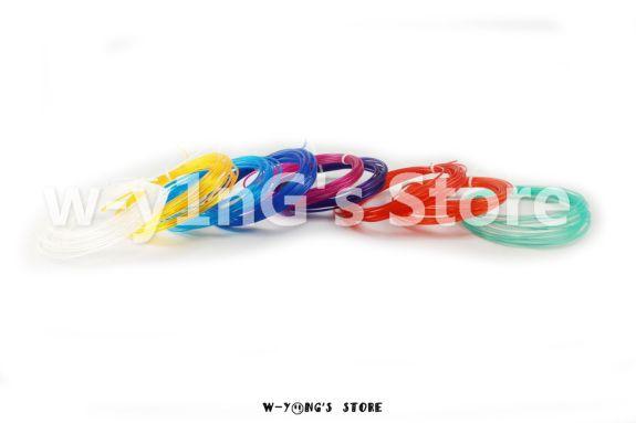 3D supplies 20 1pcs Candy 9 colors 1set 9 pcs 3D pen supplies PLA Filament 1.75mm Sample for 3D Printer & 3D Printing Pen