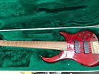 PEAVEY CIRRUS 6 String BASS Guitar with Case Absolutely Beautiful fender ibanez