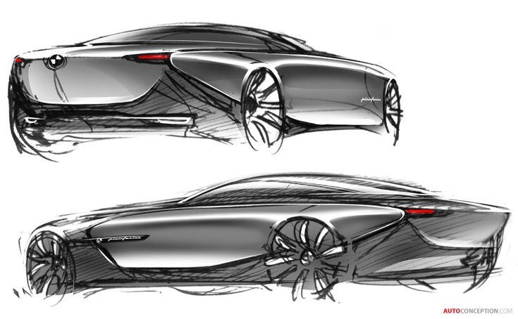 BMW Pininfarina Gran Lusso Coupé Design Revealed