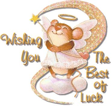 Wishing you the best of luck