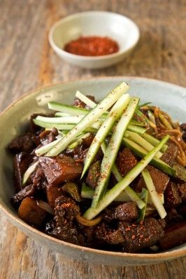 Jajangmyeon recipe from Kimchi Chronicles