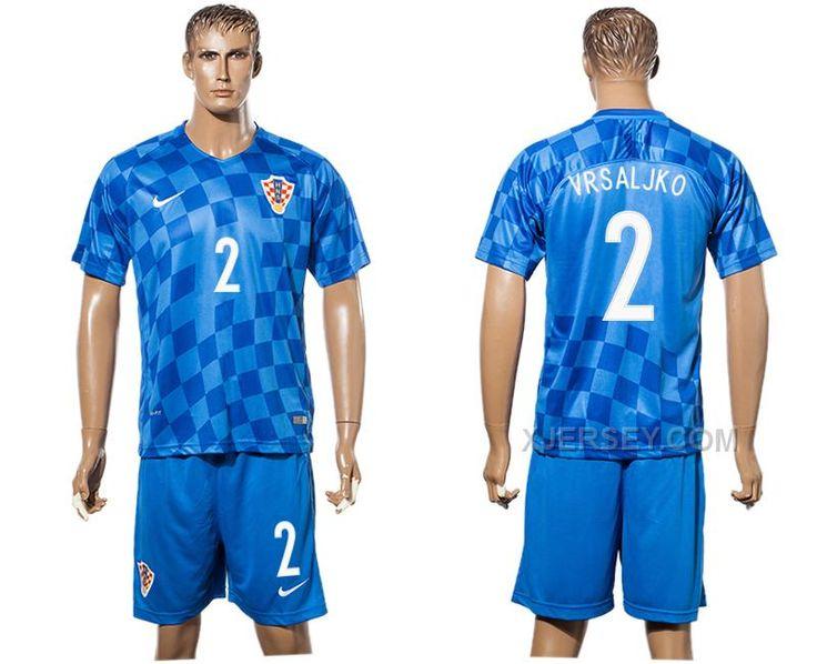 only 21.50usd httpxjerseycroatia 2 vrsaljko 2016 2017 adults long sleeve neuer goalkeeper jersey kit blue men soccer set 1