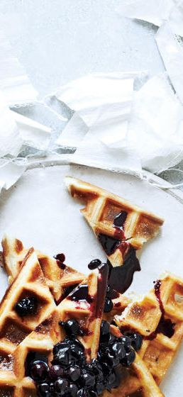 This currant-maple sauce is better than syrup. Get the recipe here.