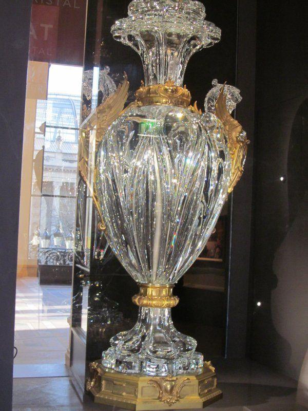 Baccarat baccarat saint louis pinterest tags - Galeries lafayette vaisselle ...