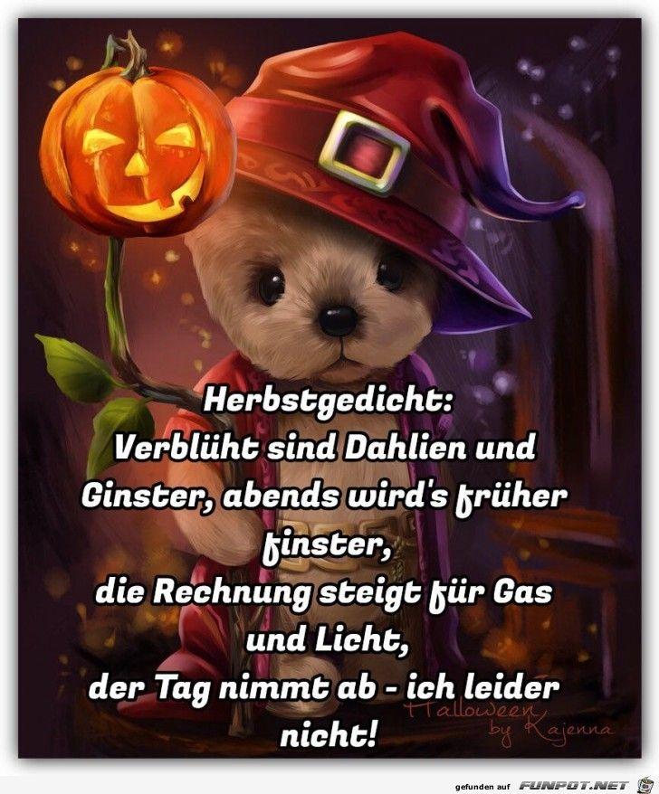 lustiges Bild 'Herbstgedicht.jpg'- Eine von 23226 Dateien in der Kategorie 'klasse Sprüche und Witze' auf FUNPOT. Kommentar: Wie wahr!!!!