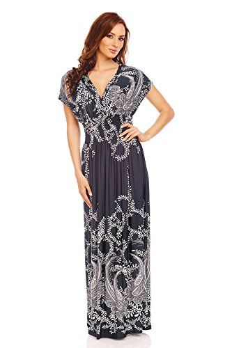 7bc9806af7e Mia Suri Summer Beach Casual Holiday Maxi Day Dress Dark ...