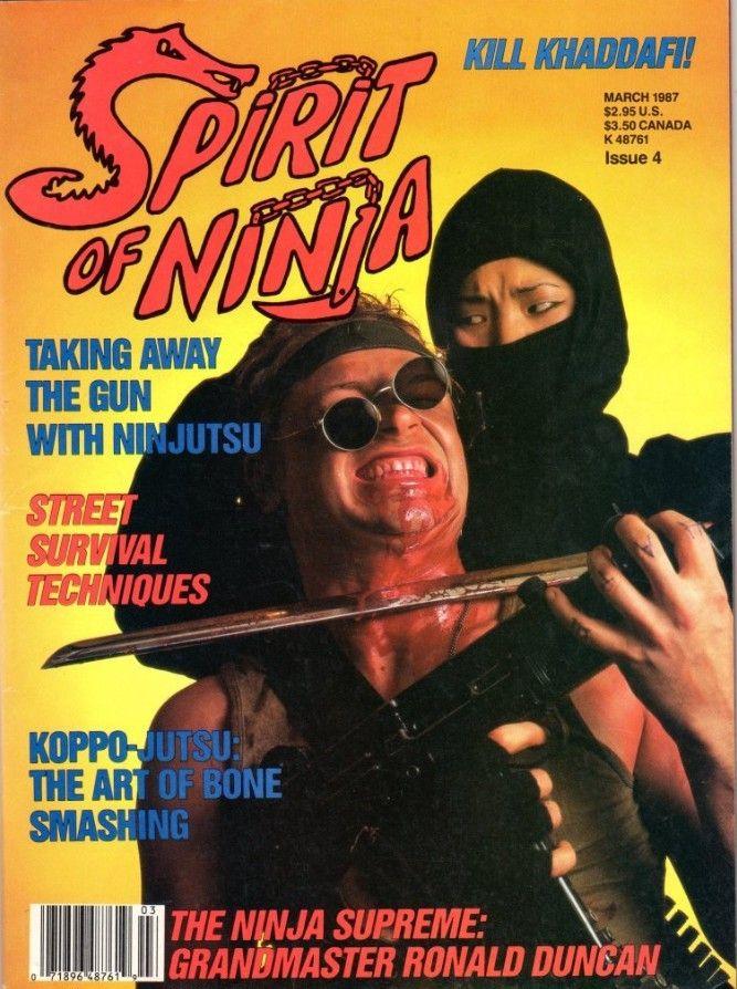 theactioneer   u201c spirit of ninja magazine  3  87