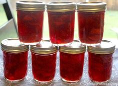This amazing bright & fresh recipe for Crock-Pot Strawberry Jam is super easy and a great beginner recipe for anyone new to canning.