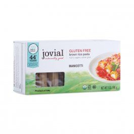 Organic Brown Rice Manicotti