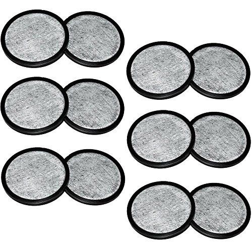 Everyday 12-Replacement Charcoal Water Filters for Mr. Coffee Machines.    High Quality 12-Pack Replacment Charcoal Water Filter for Mr. Espresso Machines. Boats from and sold by Amazon.com, different dealers may have unauthentic products.  Removes pollutions (chlorine, scents, calcium & others) that meddle with taste and quality.  These swap channels are particularly intended for all Mr. Espresso coffeemakers that require water filters  Fits all Mr. Espresso machines that require a plate...