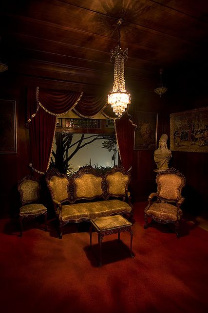 goth gothic living room livingroom den victorian decor home furniture