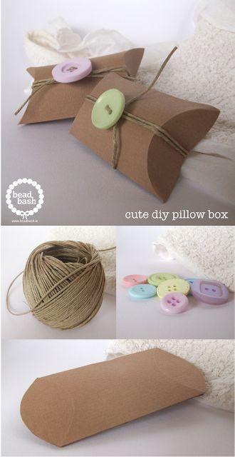 Talk Jewellery Blog by Bead Bash: Cute DIY Packaging