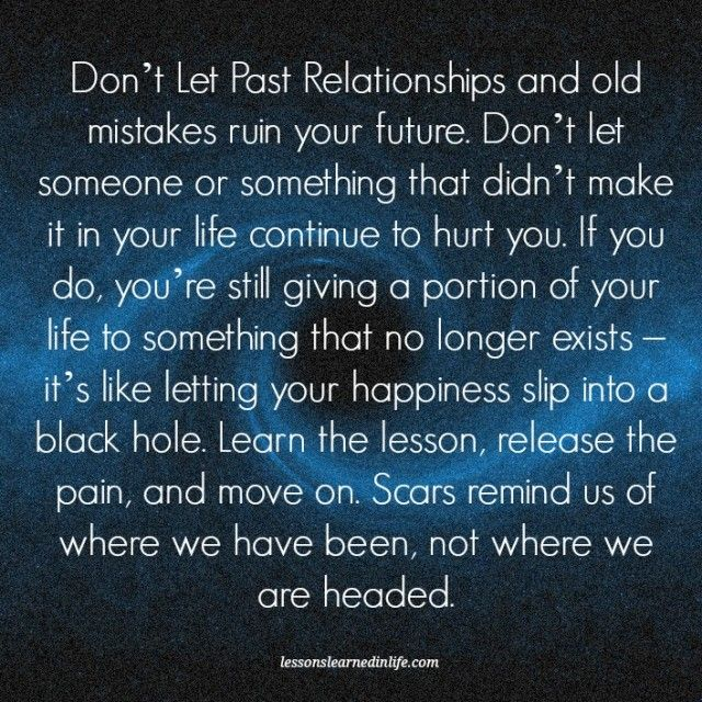 Lessons Learned in Life | Don't let your happiness slip into a black hole.