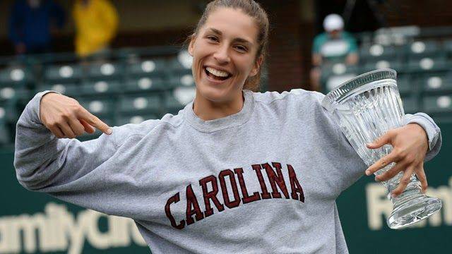 TennisMoods: Petkovic Dances Her Way to Victory  The sweet taste of success! After a few missed opportunities last year, Petkovic finally grabbed her third WTA crown in Charleston, a Premier event, that marks the most important triumph of her career.