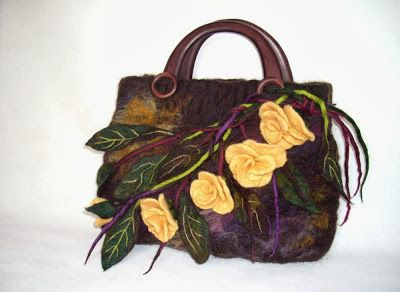 Bags by Marta: Summer Wine Tote Bag