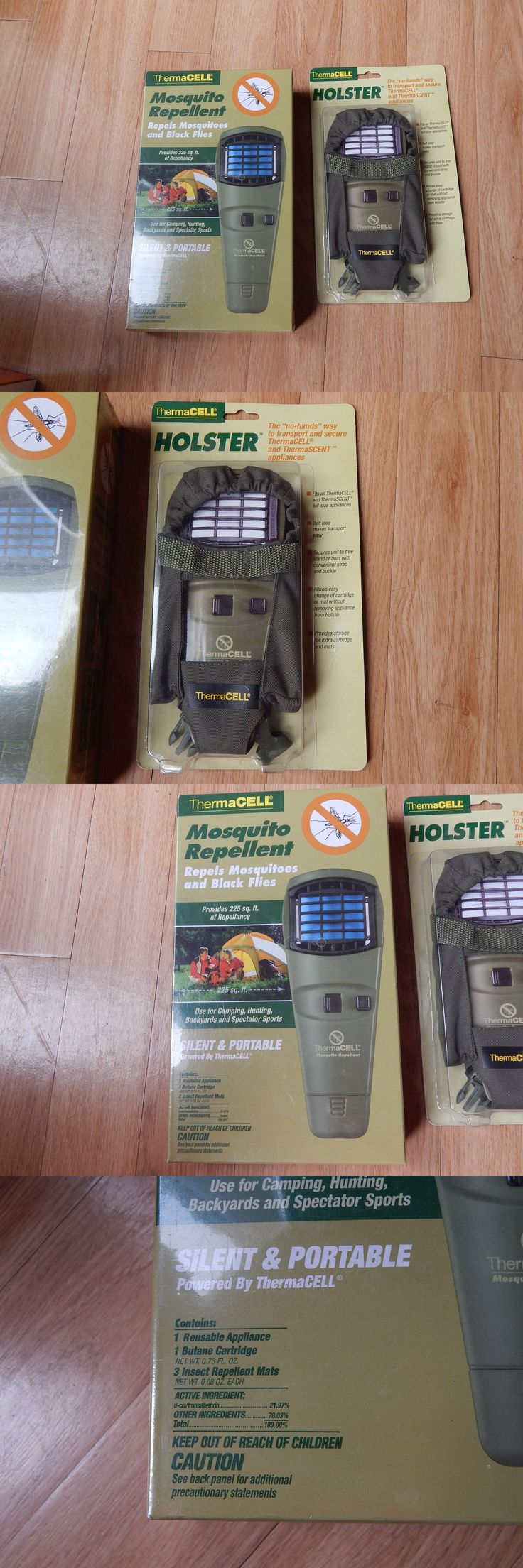 Insect Nets and Repellents 65965: Thermacell Moquito Repellent Appliance And Holster Olive Green Nib Sealed BUY IT NOW ONLY: $40.0