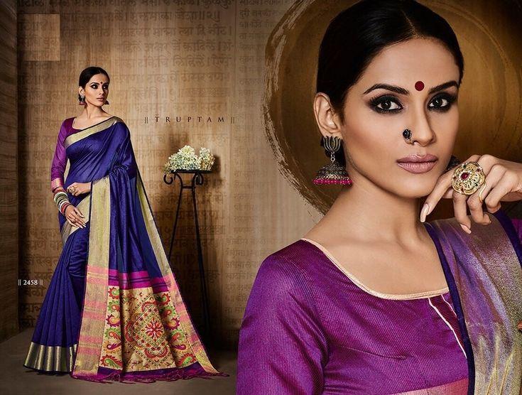 Lovely Blue Saree,Silk saree,plain saree with golden border,designer saree,party wear saree,wedding saree,buy saree online