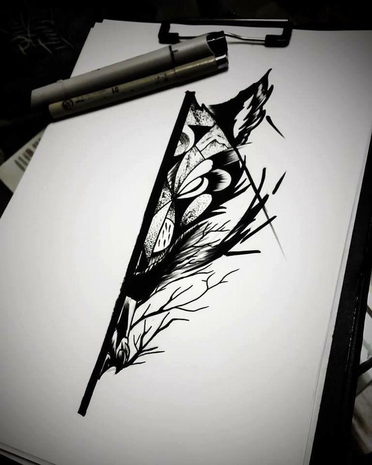 #blackwork #dotwork #jimmybct #cyphertattoo #wolf #ct #tattoo #idea #drawing